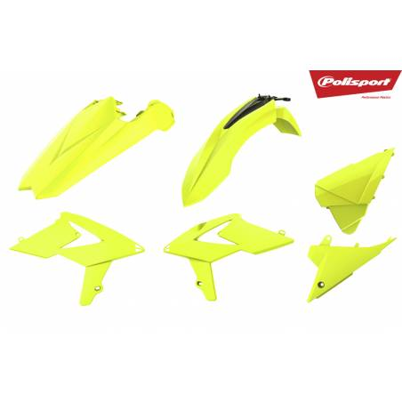 Kit plastiche replica - FLUO BETA RR 125 2T 2018-2018 Giallo fluo