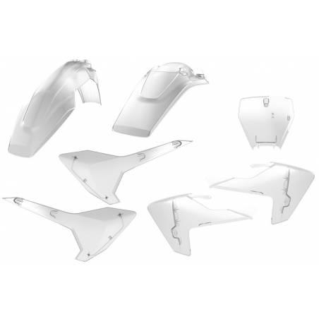 Kit plastiche replica - CLEAR HUSQVARNA 125 TC 2016-2018 Clear