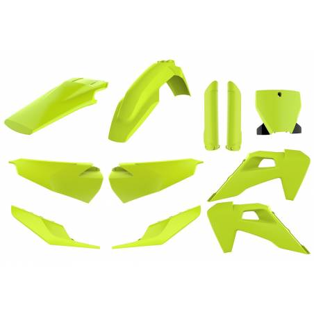 Kit plastiche replica - FLUO HUSQVARNA 250 TC 2019-2019 Giallo fluo