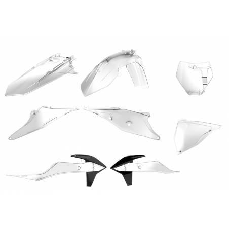 Kit plastiche replica - CLEAR KTM 450 SX F 2019-2019 Clear