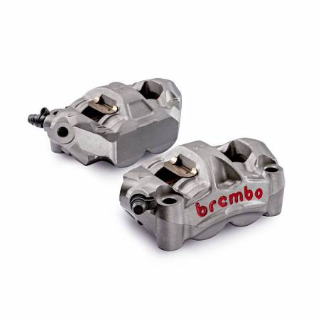 220A88510 Kit 2 M50 Brembo Racing Radial Brake Calipers + 4 Pads Wheelbase 100 mm BMW S 1000 RR