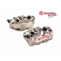 220C78310 Kit 2 Pinze Freno Radiali GP4-RS Brembo Racing + 4 Pastiglie Interasse 108 mm  Brembo