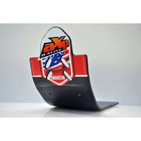 AX1333 La plaque de protection de la Croix-AXP RACING HONDA CRF 250 R 2013-2017 Noir