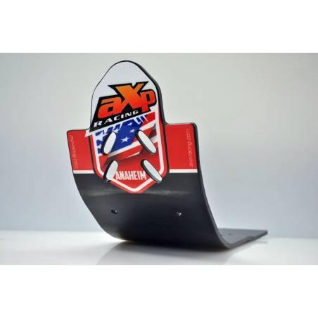AX1333 Skid Platte 6mm Kreuz AXP RACING HONDA CRF 250 R 2013-2017 Schwarz  AXP Racing