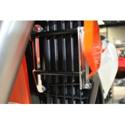 AX1360 Protezioni radiatori AXP HUSQVARNA 300 TE 2017-2017 Nero  AXP Racing