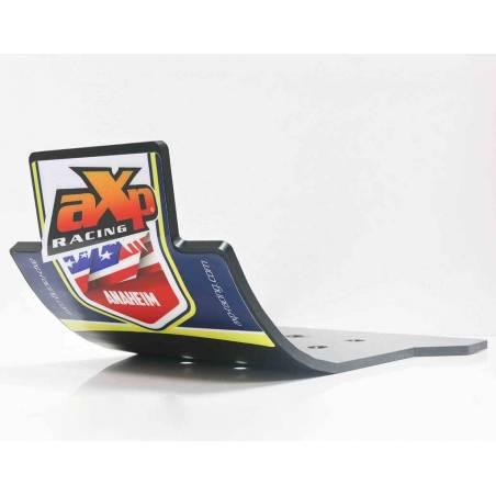 AX1379 Skid Platte 6mm Kreuz AXP RACING Husqvarna TC 125 2016-2019 Schwarz  AXP Racing