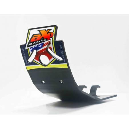 AX1380 Skid plate 6mm Cross AXP RACING 250 HUSQVARNA FC 2016-2019 Black  AXP Racing