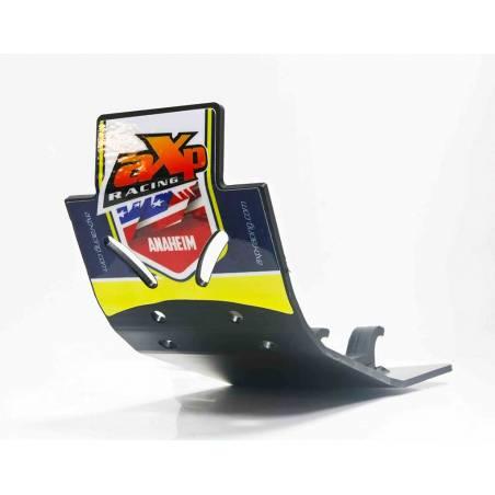 AX1381 Skid placa de 6 mm Cruz AXP RACING 450 HUSQVARNA FC 2016-2019 Negro