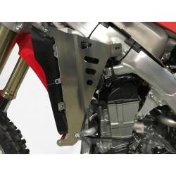 AX1417 Protections radiators AXP HONDA CRF 450 R 2017-2020 Red  AXP Racing