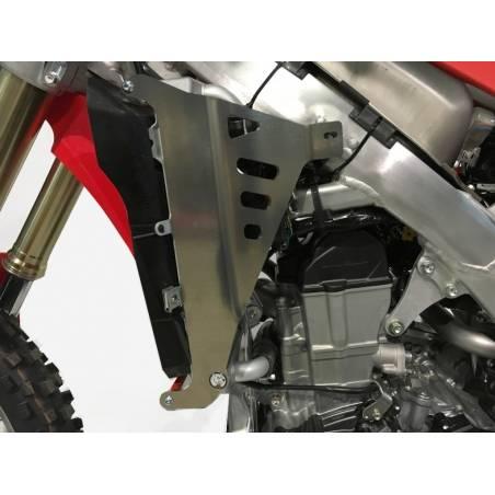 AX1417 Protecciones radiadores AXP HONDA CRF 450 R 2017-2020 Red