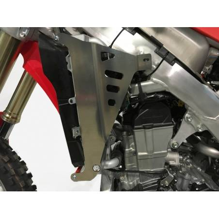 AX1417 Protections radiators AXP HONDA CRF 450 Red RX 2017-2020  AXP Racing