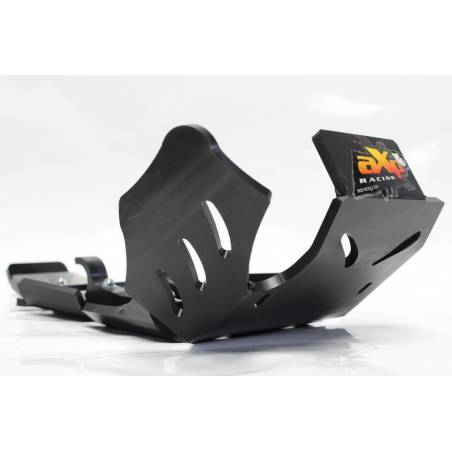 AX1421 Skid plate Xtrem AXP 8mm linkage protection Husqvarna TE 250 2018-2020 Black  AXP Racing