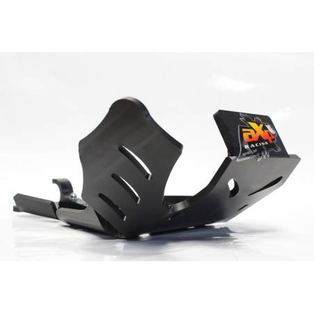AX1423 Skid plate Xtrem AXP 8mm with linkage Protection KTM 250 EXC 2018-2020 Black  AXP Racing