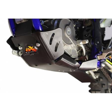 AX1424 Skid plate Xtrem AXP 8mm with linkage Protection 250 SHERCO SE-R Black 2014-2020  AXP Racing