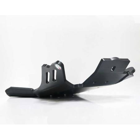 AX1438 Skid plate Xtrem AXP 8mm with linkage Protection KTM 250 EXC 2011-2016 Black  AXP Racing