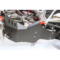 AX1465 Piastra paramotore Xtrem AXP 8mm con protezione leverismi BETA Xtrainer 250 2018-2019 Nero