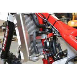 AX1489 Protections radiators AXP BETA RR 125 2T 2018-2019 Red  AXP Racing
