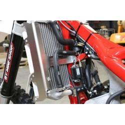 AX1489 Protezioni radiatori AXP BETA RR 125 2T 2018-2019 Rosso  AXP Racing