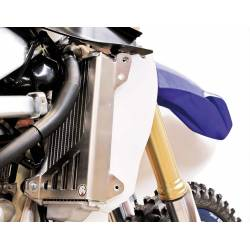 AX1496 Protections radiators AXP YAMAHA YZ 250 F 2019-2020 Blue  AXP Racing
