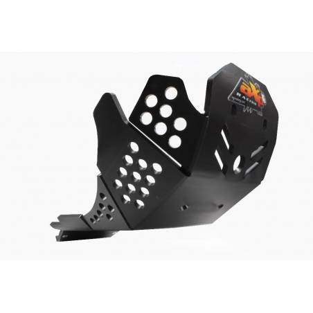 AX1512 Skid plate Xtrem AXP 8mm protected linkages HONDA CRF 450 R 2017-2020 Black  AXP Racing