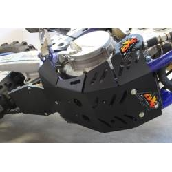 AX1536 Skid plate Xtrem AXP 8mm with linkage Protection SHERCO 250 SEF-R Black 2019-2020  AXP Racing