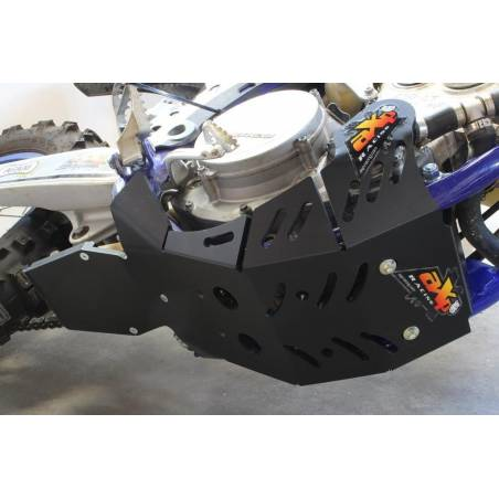 AX1536 Skid plate Xtrem AXP 8mm with linkage Protection SHERCO 300 SEF-R Black 2019-2020  AXP Racing