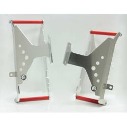 AX1370 Protections radiators AXP HONDA CRF 250 R 2016-2017 Red  AXP Racing