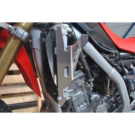 AX1553 Protections radiators AXP HONDA CRF 250 R 2020-2020 Red  AXP Racing