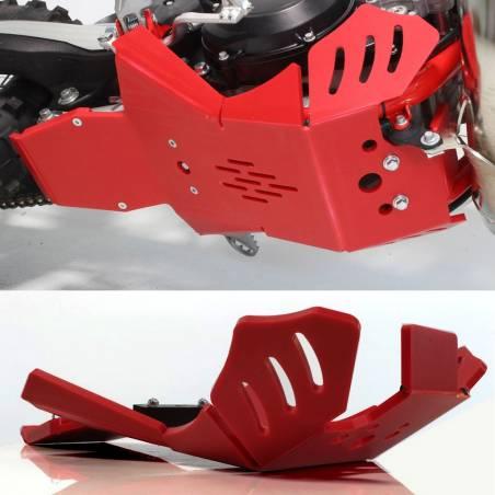 AX1551 Rutschplatte Xtrem AXP 8mm mit Gestänge Schutz BETA RR 300 2020-2020 Red  AXP Racing