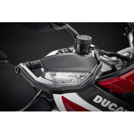 PRN014664-04 Ducati Multistrada 1260 S Grand Tour Hand Guard Protectors 2020+  Evotech-performance