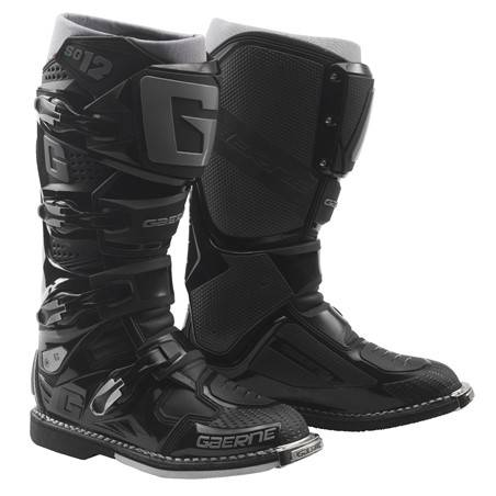 GAERNE SG-12 BLACK STIVALE MX CROSS / ENDURO