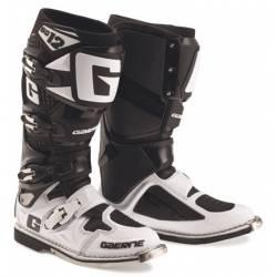 GAERNE SG-12 BLACK WHITE STIVALE MX CROSS / ENDURO