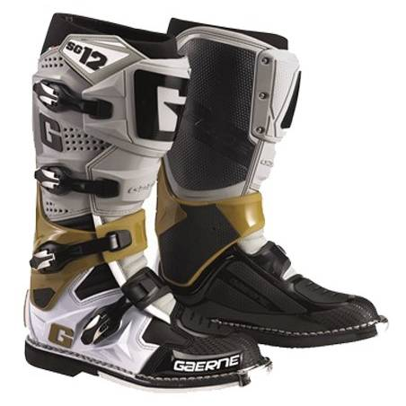 GAERNE SG-12 GREY/MAGNESIUM/WHITE STIVALE MX CROSS / ENDURO