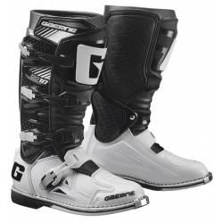 GAERNE SG-10 BLACK/WHITE STIVALE MX CROSS / ENDURO