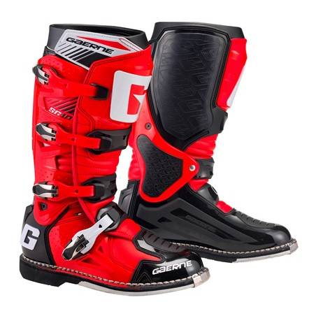 GAERNE SG-10 RED/BLACK STIVALE MX CROSS / ENDURO