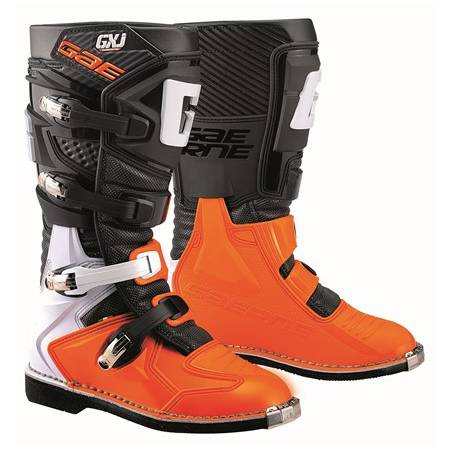 GAERNE GX-J BLACK/ORANGE STIVALE MX CROSS / ENDURO
