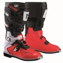 GAERNE GX-J BLACK/RED STIVALE MX CROSS / ENDURO