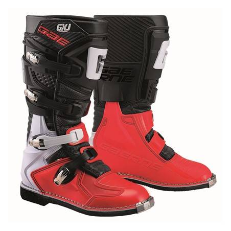 GAERNE GX-J BLACK/RED STIVALE MX CROSS / ENDURO