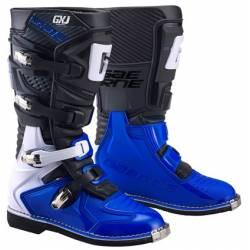GAERNE GX-J BLACK/BLUE STIVALE MX CROSS / ENDURO