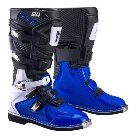 GAERNE GX-J BLACK/BLUE STIVALE MX CROSS / ENDURO