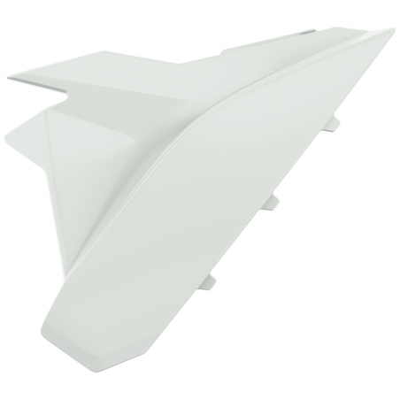 Coperchi laterali cassa filtro BETA RR 250 2020-2021 Bianco