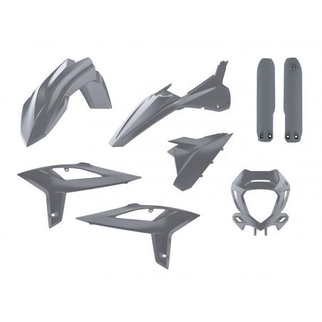 Kit plastiche replica - NARDO GREY BETA RR 125 2T 2020-2021 Nardo grey