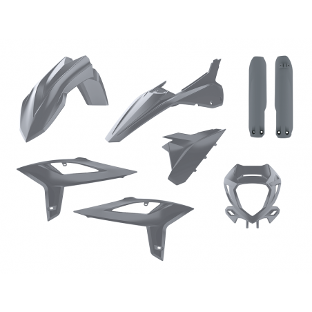 Kit plastiche replica - NARDO GREY BETA RR 390 2020-2021 Nardo grey
