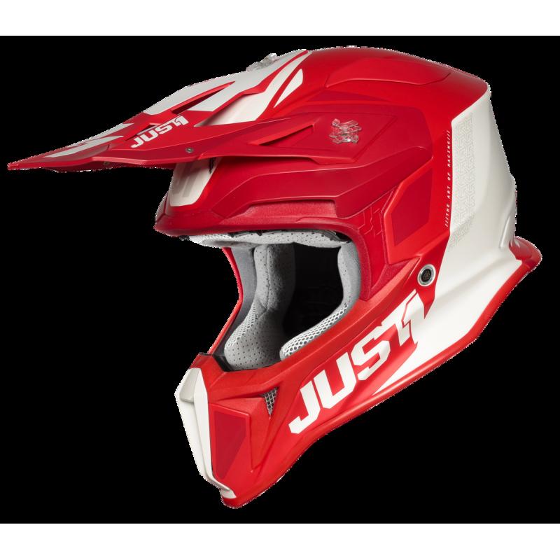 JUST1 J18 PULSAR RED-WHITE - Matt XS