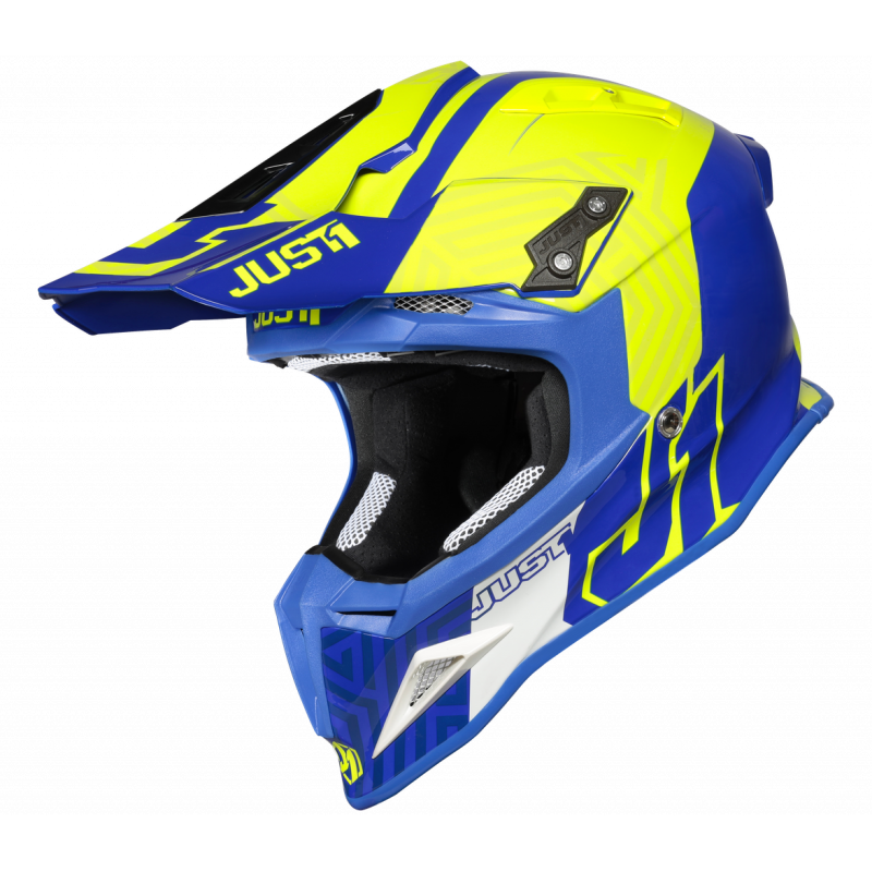 JUST1 J12 SYNCRO FLUO YELLOW BLUE - Gloss S