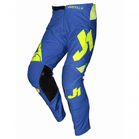 675001001200128 JUST1 J-FLEX Pantaloni Aria Blue - Fluo Yellow 28 8053288719586 JUST 1