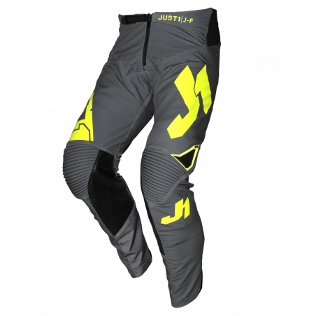 675001003200130 JUST1 J-FLEX Pantaloni Aria Dark Grey - Fluo Yellow 30 8050038560702 JUST 1
