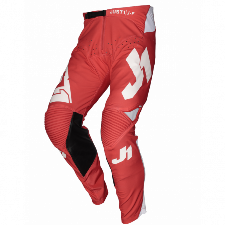 675001007100140 JUST1 J-FLEX Pantaloni Aria Red - White 40 8053288719852 JUST 1