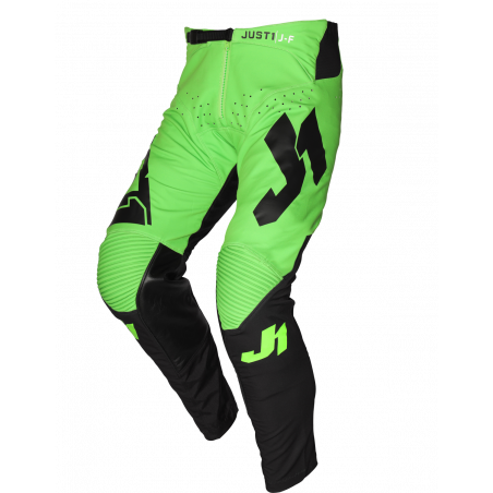 675001104500120 JUST1 J-FLEX Pantaloni Aria Black - Fluo Green 20 8050038560214 JUST 1