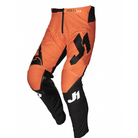 675001105100122 JUST1 J-FLEX Pantaloni Aria Black - Orange 22 8050038560344 JUST 1